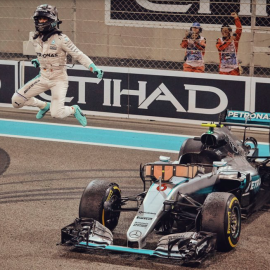New Formula 1 World Champion acknowledges the Power of the Mind.